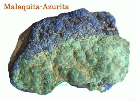 malaquita-azurita