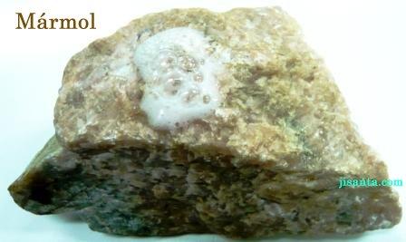 Rocas metam rficas qu mica maravillosa for Marmol mineral
