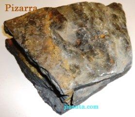 Rocas metam rficas qu mica maravillosa for Pizarra roca
